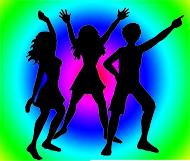 party-clip-art-dance-party color