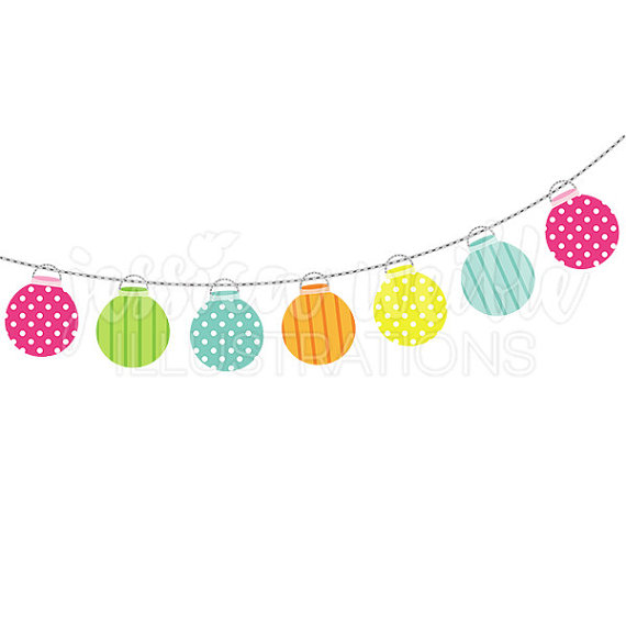 Enjoyable Inspiration Ideas Clipart Party String Of Lanterns Cute Digital  Lights