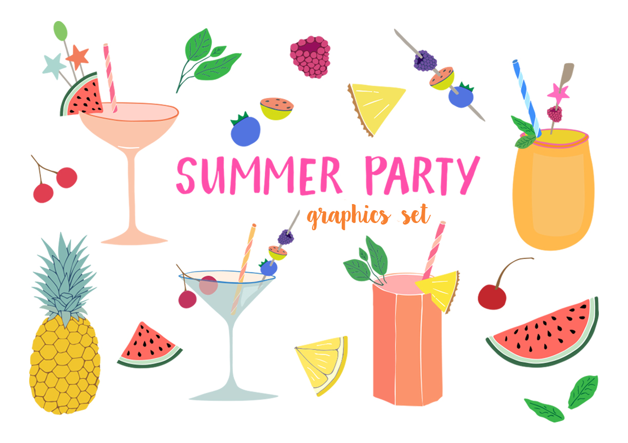 Summer Party Clipart-Summer Party Clipart-12