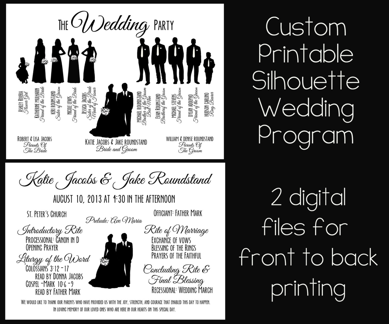 Party Silhouette Clipart #1. Wedding Party Silhouette .