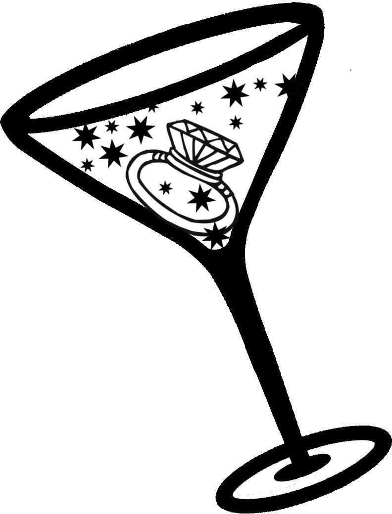 89 Clipart Martini Glass Clipartlook