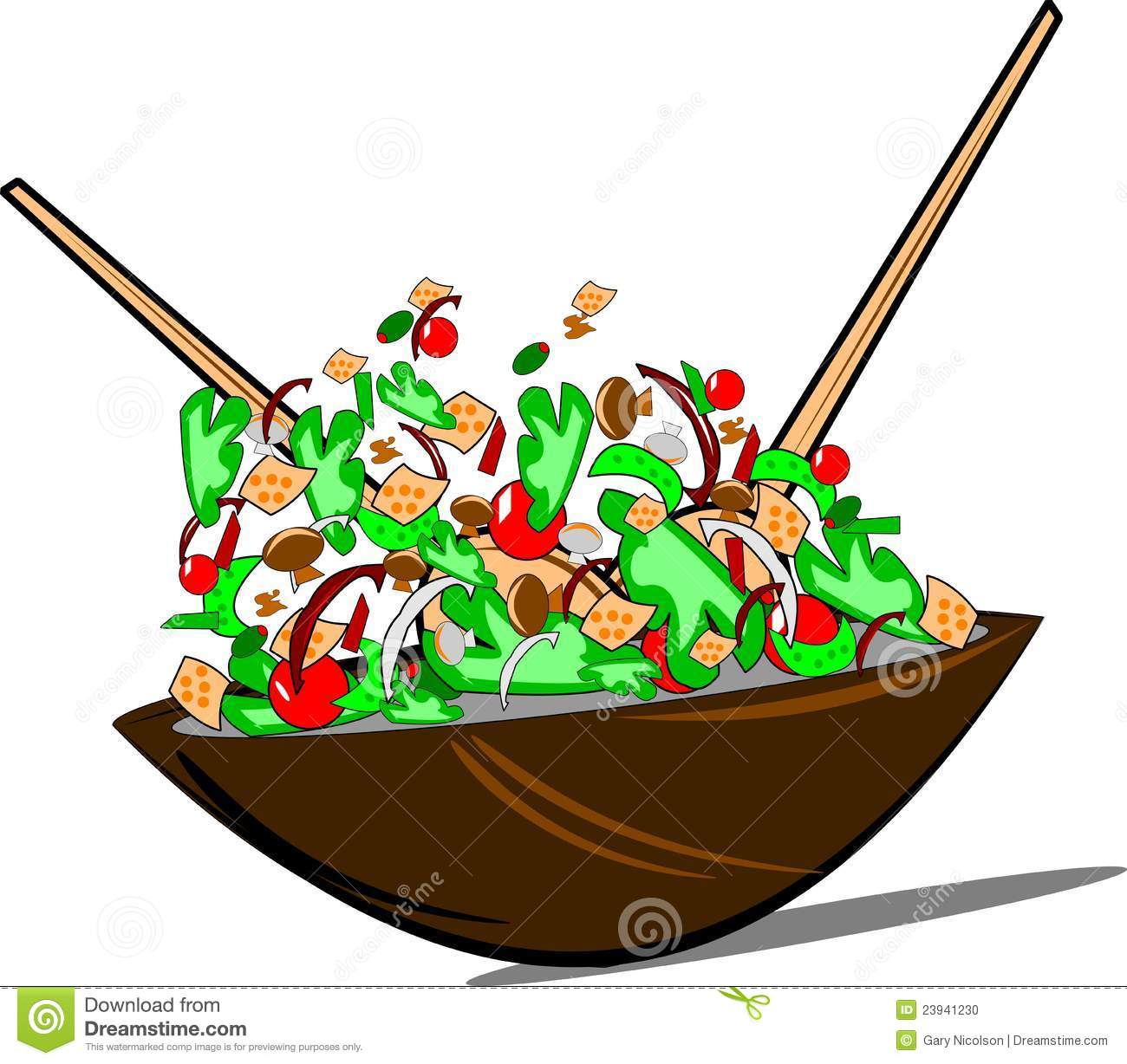Pasta Salad Clipart Clipart Panda Free Clipart Images