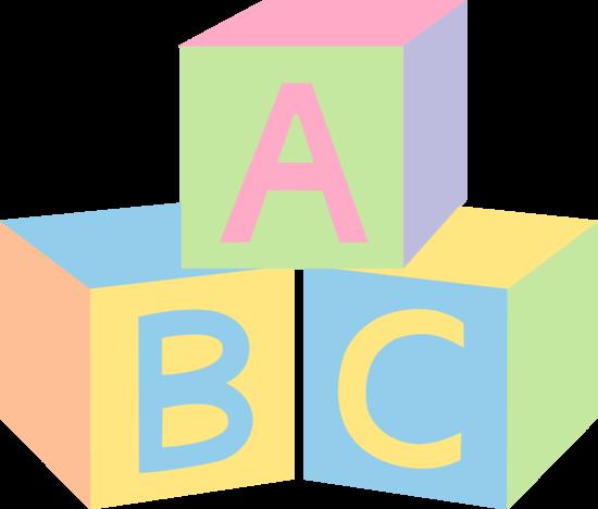 Pastel ABC Baby Blocks - Free Clip Art-Pastel ABC Baby Blocks - Free Clip Art-8