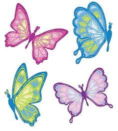 Pastel butterflies clipart clipartfox-Pastel butterflies clipart clipartfox-2