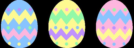 Pastel Easter Egg Clipart