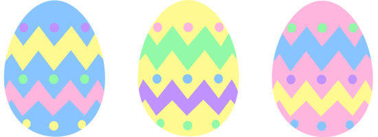 Pastel Easter Egg Clipart