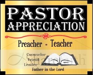 Pastor Appreciation Month Word Art Event-Pastor Appreciation Month Word Art Event Word Art-12