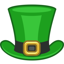 Patrick Top Hat Clip Art .