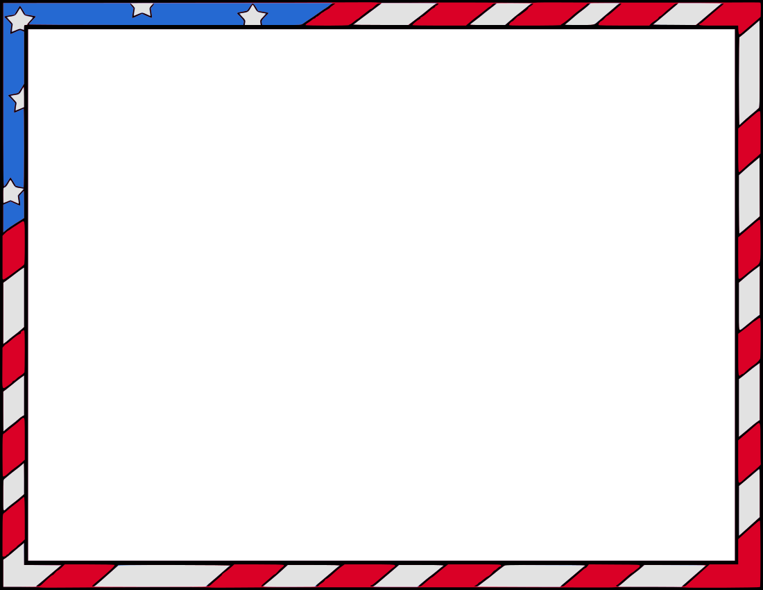 Patriotic Border Clipart ...