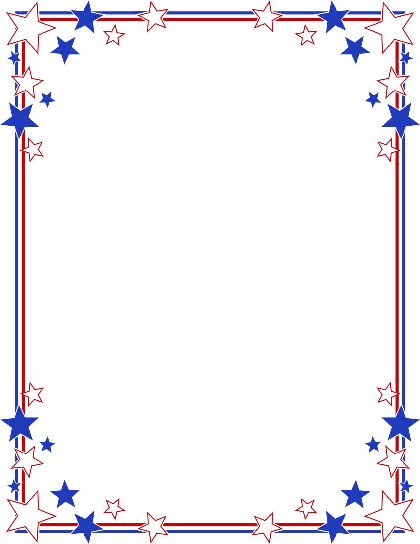 ... Patriotic Border Clipart ...