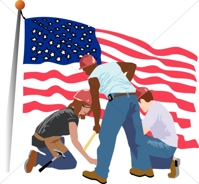 Patriotic Construction and Cleanup Worke-Patriotic Construction and Cleanup Workers-10