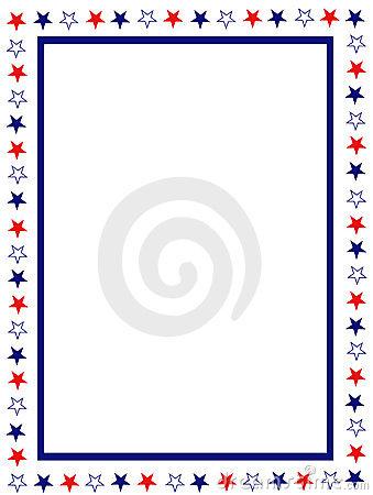 Patriotic Star Border Clip Art Patriotic Border 8437483 Jpg