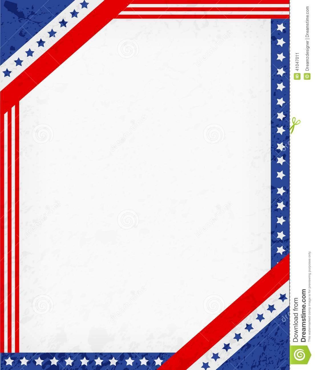 Patriotic Star Border Clip Art Patriotic Border Red Blue American Flag
