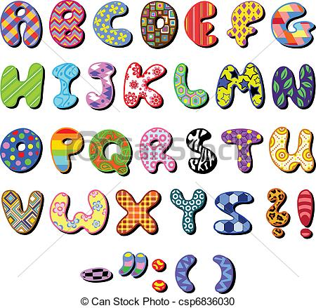 ... Patterned Alphabet - Colorful Patter-... Patterned alphabet - Colorful patterned alphabet set-19