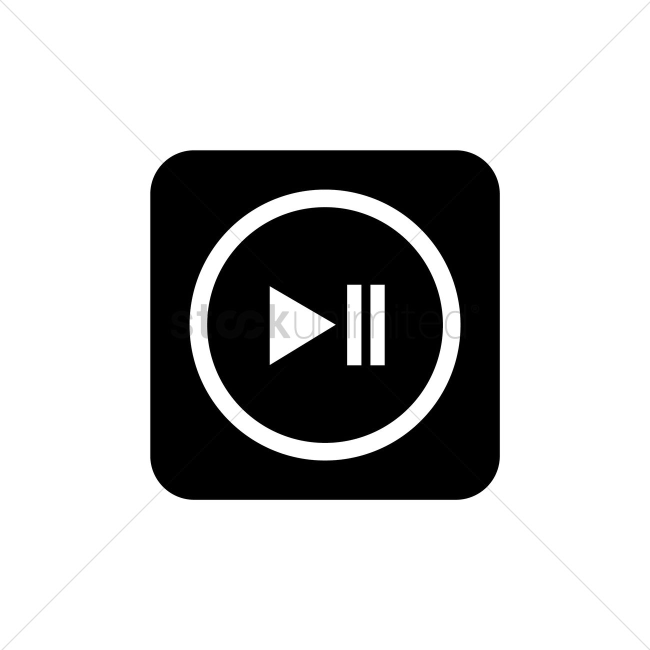 media play pause button vector graphic-media play pause button vector graphic-18