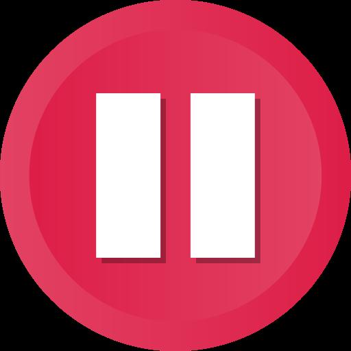 Pause Button Clipart red-Pause Button Clipart red-14