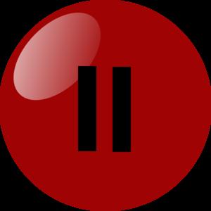 Pause Button Dark Red Clip Art-Pause Button Dark Red Clip Art-5