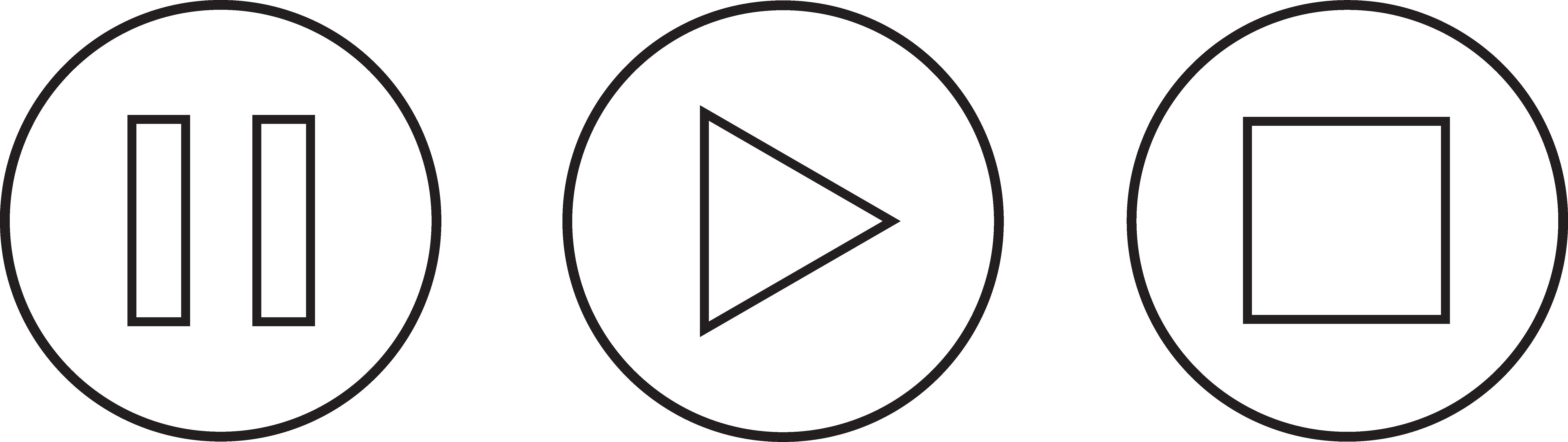 Play Pause Button Clipart #1-Play Pause Button Clipart #1-16