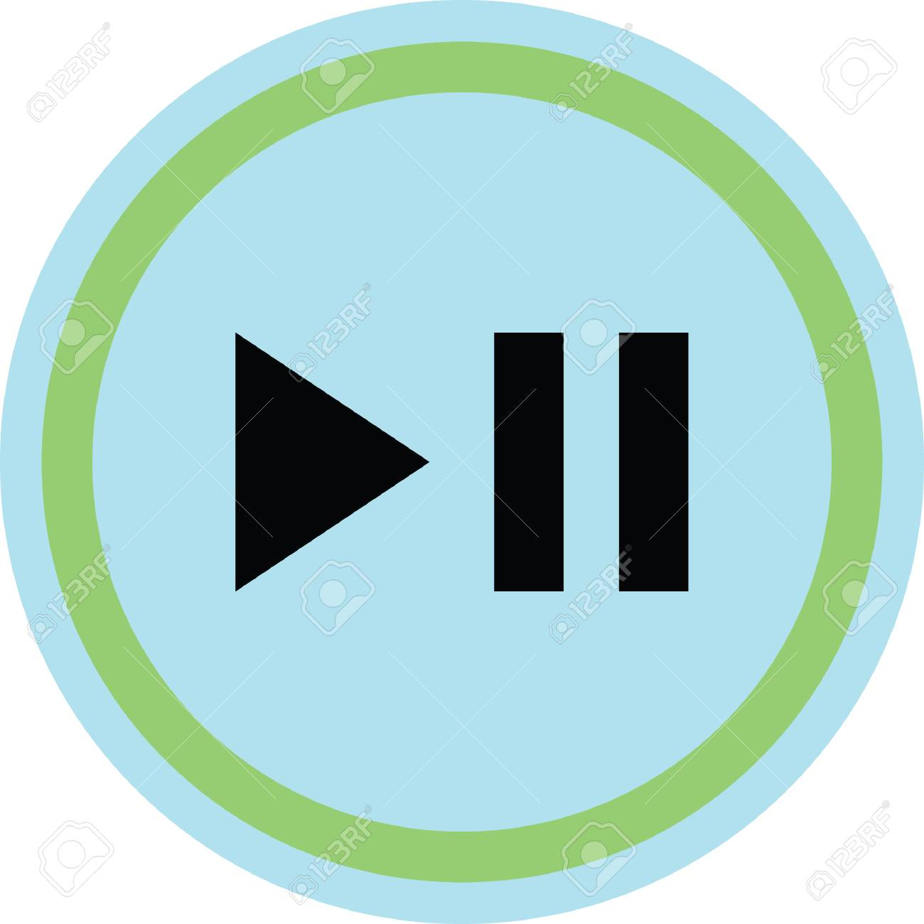 play pause button Stock Vector - 7024629-play pause button Stock Vector - 70246297-13