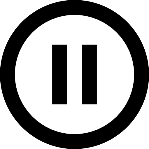 Rounded pause button free icon - Pause B-Rounded pause button free icon - Pause Button PNG-4