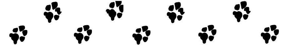 Paw prints dog paw print stamps dog prints clip art clipartcow