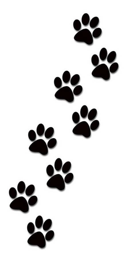 Paw prints paws tattoo designs for women-Paw prints paws tattoo designs for women kids and everybody paw print clip art-9