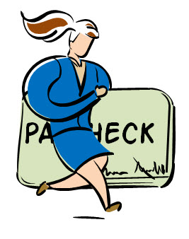 Paycheck Clipart