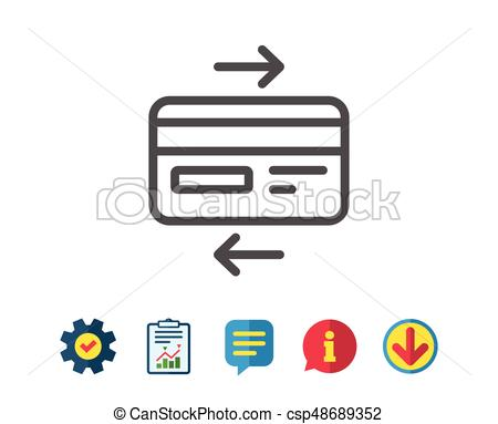 Bank payment method. - csp48689352