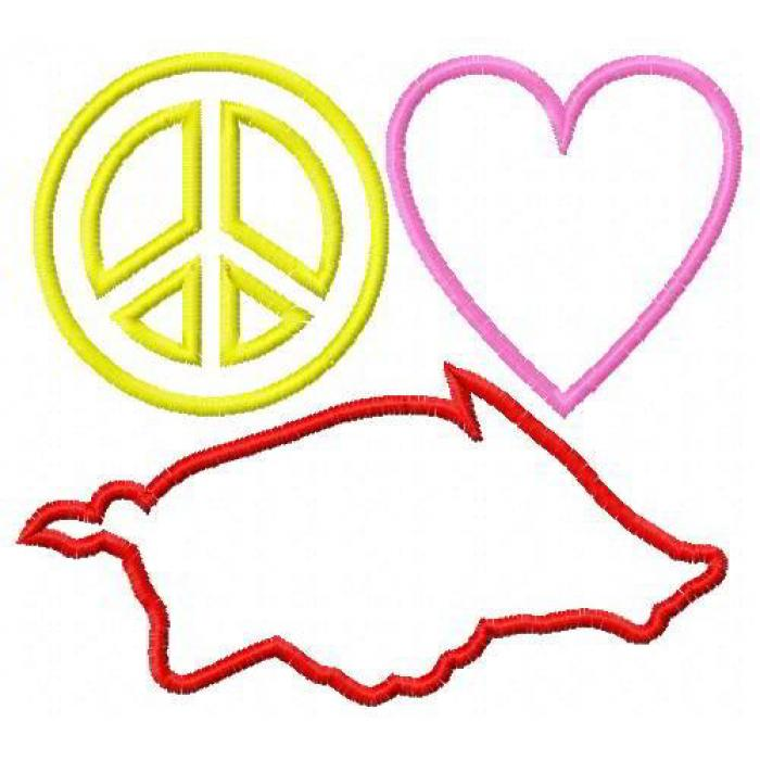 Peace Clip Art Free. Razorback .
