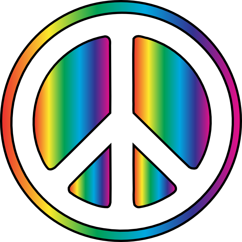 Peace sign clip art 2