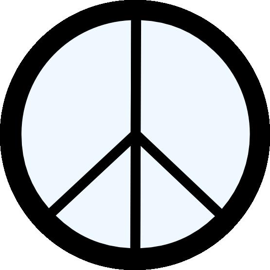 Peace signs clip art clipart