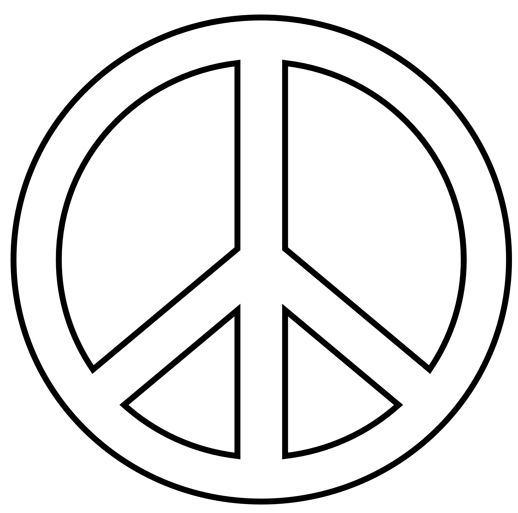 Peace Signs Clip Art