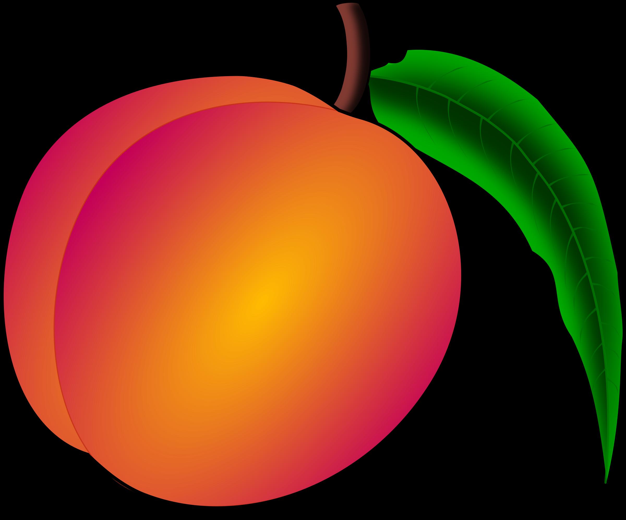 Peach Clip Art