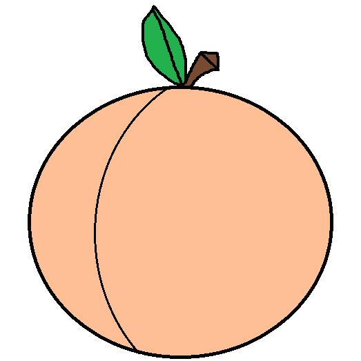 Peach Clipart Free Clip Art Images