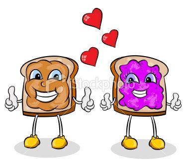 Peanut Butter And Jelly Clip Art | Peanu-Peanut Butter And Jelly Clip Art | Peanut Butter and Jelly Royalty Free Stock Vector Art Illustration | For my bridesmaids kidrock | Pinterest | Butter, ...-8