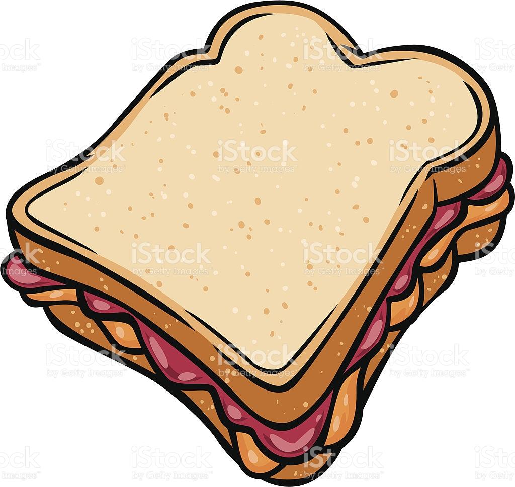 peanut butter jelly sandwich .