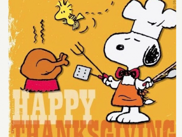 Peanuts Thanksgiving by . - Snoopy Thanksgiving Clip Art