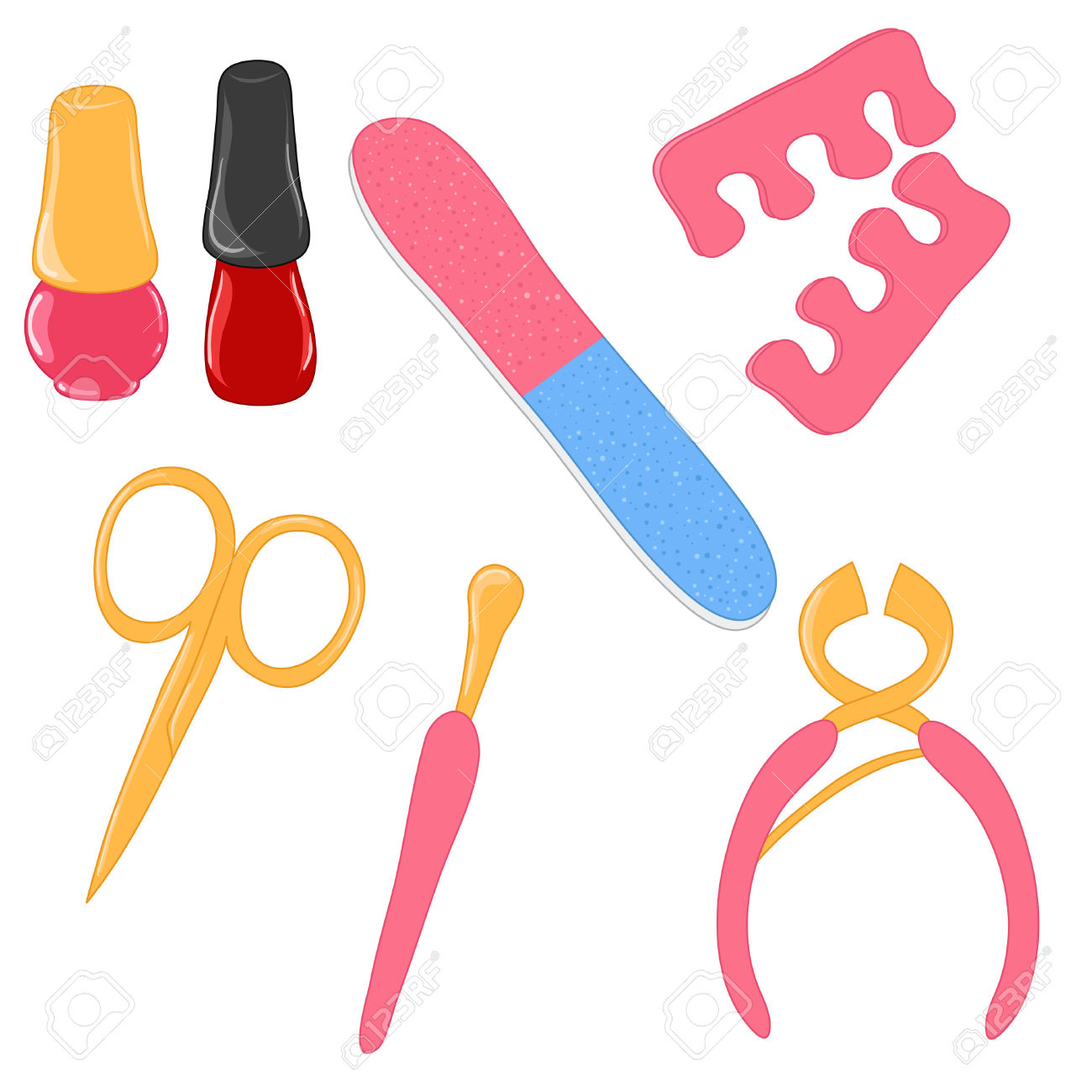 Pedicure Clipart #23549