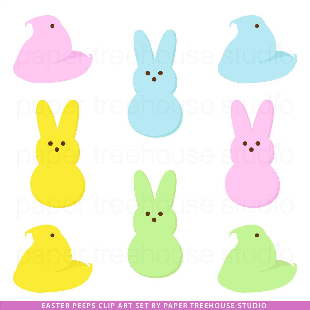 Peeps Clip Art Peep Bunny-Peeps Clip Art Peep Bunny-11