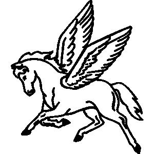 Pegasus Clip Art-Pegasus Clip Art-8