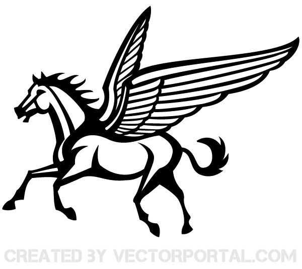 Pegasus Clip Art-pegasus clip art-10
