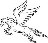 ... pegasus horse ...