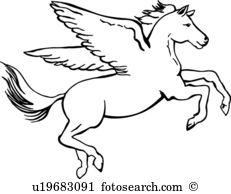 Pegasus. Pegasus. ValueClips Clip Art