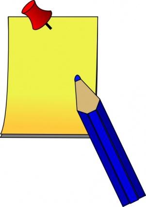 Pen And Paper Clipart-pen and paper clipart-10