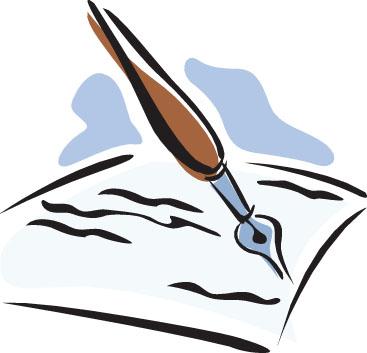 Pen And Paper Clipart-Pen and paper clipart-16