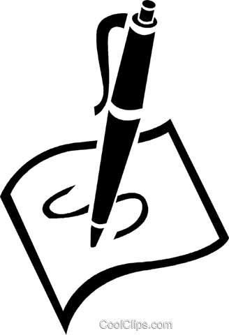 Pen And Paper Royalty Free .-pen and paper Royalty Free .-18
