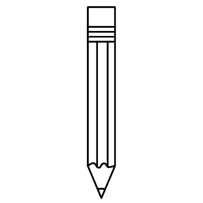 pencil sharpener clipart black and white