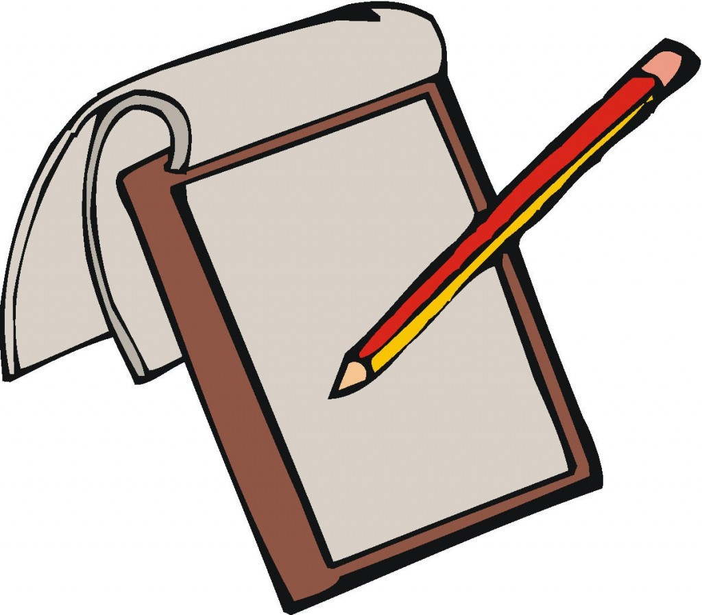 Pencil And Paper Clipart - Pencil And Paper Clip Art