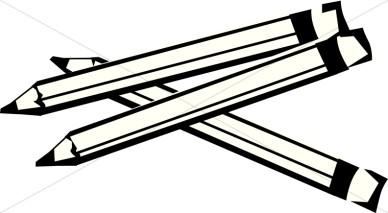 Pencil Black And White Clipart ... ef2c77df361e8bd893a6a230323a52 .