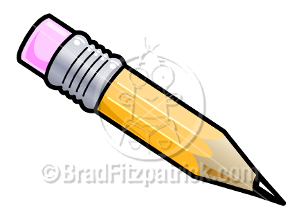 Cartoon Pencil Clipart Picture